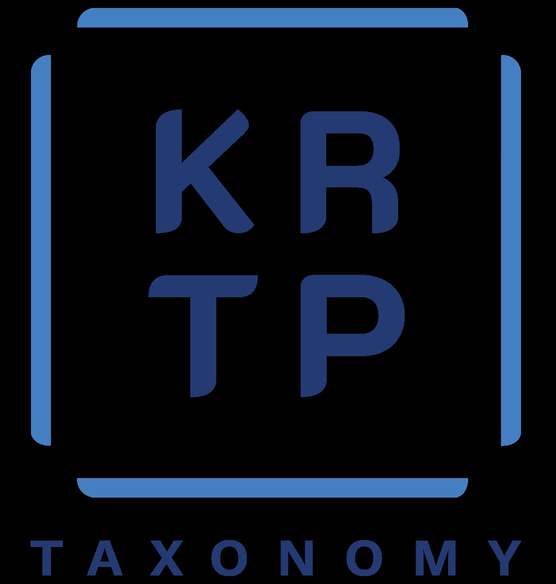 KRTP Taxonomy
